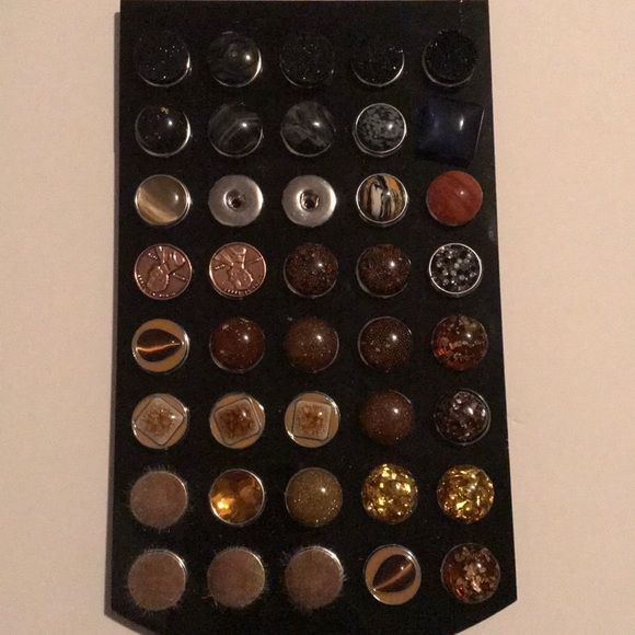Jewelry - Brown and Black snaps for bracelets-BRAND NEW!